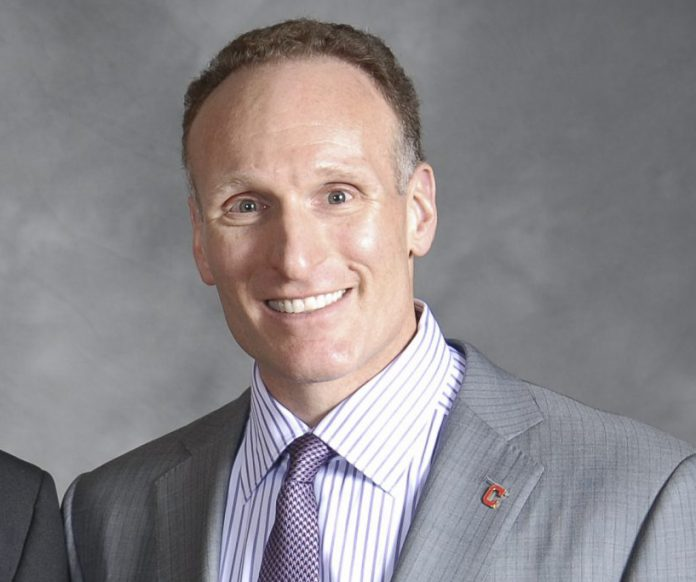 Mark Shapiro of the Indians, February 2, 2012