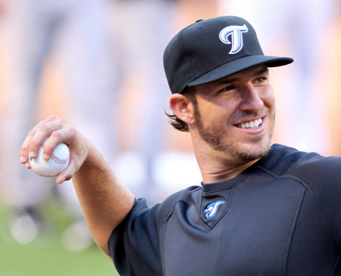 J.P. Arencibia, August 31, 2011