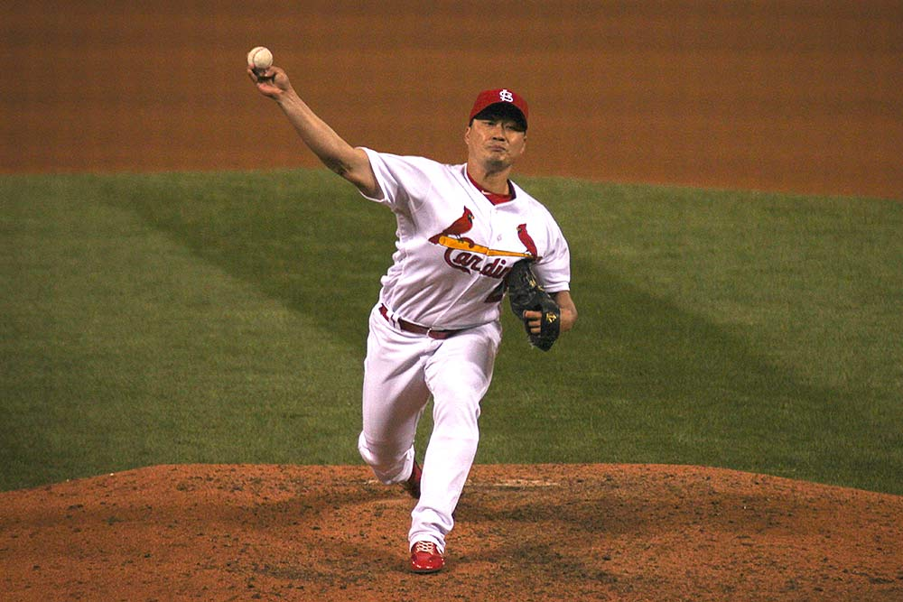 Seung Hwan Oh is Searching For a Secondary Pitch